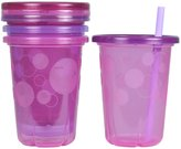 The First Years Take & Toss Straw Cup - Boy - 10 oz - 4 ct