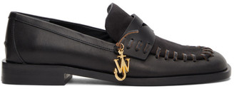 J.W.Anderson Black Antick Loafers