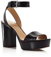 MICHAEL Michael Kors Leonora Embossed Platform Sandals - 100% Bloomingdale's Exclusive