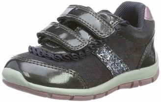 Geox Girl's Shaax Suede Sneaker Shoe