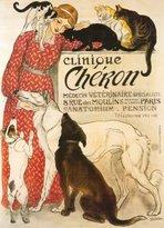 Clinique Poster Revolution Cheron, c.1905 Art Poster Print by Théophile Alexandre Steinlen, 26x36