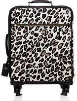 Kate Spade Classic nylon leopard international carry-on
