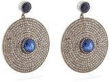 Jade Jagger Diamond, sapphire & white-gold earrings