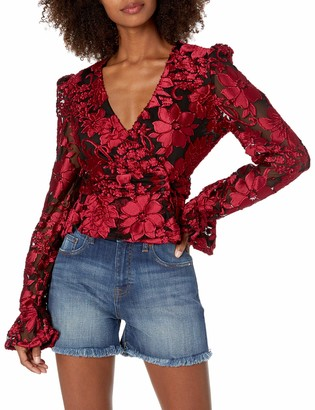 House Of Harlow Women's Solana Blouse
