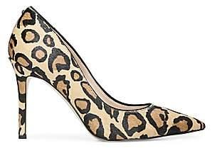 Sam Edelman Women's Hazel Leopard Calf Hair Pump