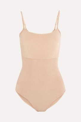 Wolford Opaque Natural Light Forming Bodysuit - Sand