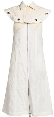 MONCLER GENIUS 2 Moncler 1952 Sleeveless Embellished Shirt Dress