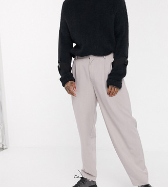 Collusion balloon leg trouser in pink