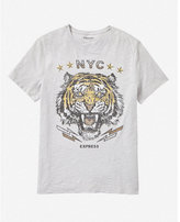 Express nyc tiger graphic tee