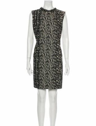 Oscar de la Renta 2012 Mini Dress Black