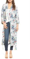 Hinge Women's Floral Print Duster