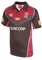 Canterbury of New Zealand QLD Maroons State of Origin 2017 Men's Training Polo