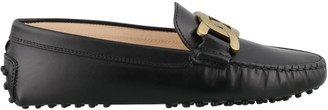 Tod's Chain Logo Loafers