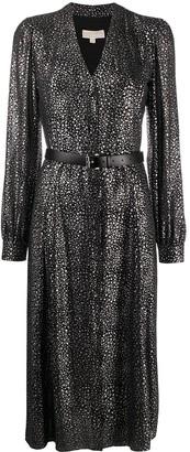 MICHAEL Michael Kors Spaced Galaxy Long Dress