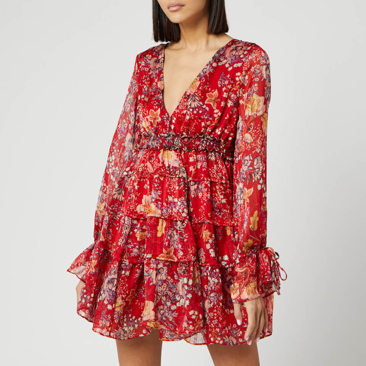 Free People Women's Closer To The Heart Mini Dress