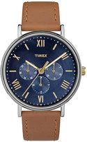 Timex Men's Southview Tan Leather Strap Watch