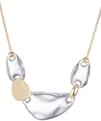 Alexis Bittar Small Liquid Lucite Link Necklace