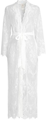 Jonquil Sara Scalloped Lace Robe
