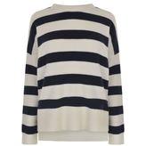 Theory Karenia Stripe Cashmere Sweater
