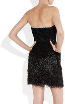 Roberto Cavalli Fringed sequined dress