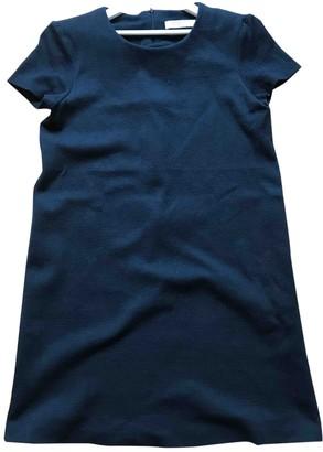Harris Wharf London Blue Cotton Dress for Women