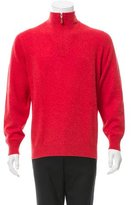 Brunello Cucinelli Wool Half-Zip Sweater
