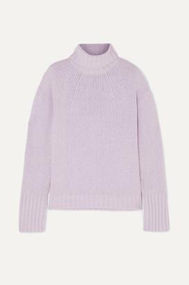 Philosophy di Lorenzo Serafini Wool-blend Turtleneck Sweater - Violet