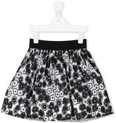 Simonetta floral print skirt - kids - Cotton/Polyester - 2 yrs