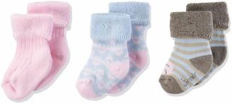 Sterntaler Girl's Baby-sockchen 3er-pack Bambi Socks