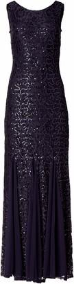 Onyx Nite Women's Lace Gown