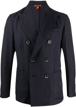 Barena Fitted Double-Breasted Blazer
