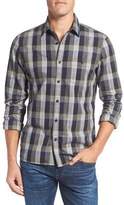 Nordstrom Men's Big & Tall Utility Check Sport Shirt