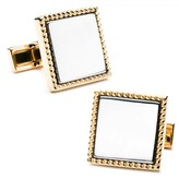 Ravi Ratan Two Tone Square Cufflinks