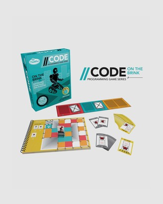 ThinkFun - Blue Games - --CODE On the Brink Game - Size One Size at The Iconic