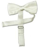 Forzieri Solid Silk Pre-tied Bowtie