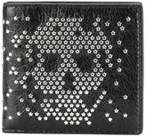 Alexander McQueen studded skull wallet - men - Leather - One Size