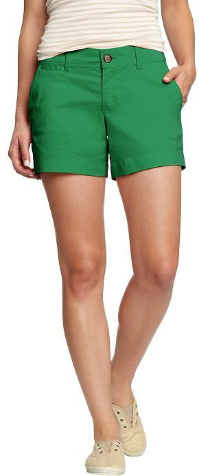 "Old Navy Women's Perfect Khaki Shorts (5"")"