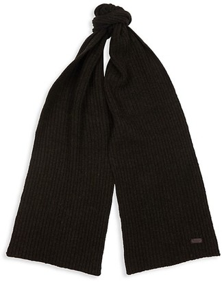Barbour Carlton Ribbed Wool-Blend Scarf
