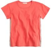 J.Crew Girls' sequin-seam T-shirt