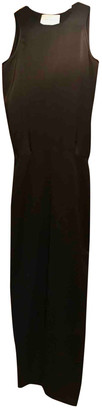 Cédric Charlier Black Polyester Dresses