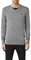 Allsaints Allsaints Mode V Neck Jumper