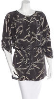 Ulla Johnson Printed Long Sleeve Tunic