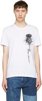Alexander McQueen White Thistle T-shirt