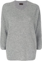 Oyuna cropped sleeve pullover