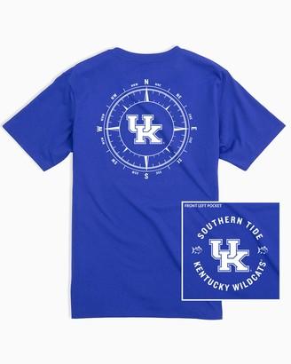 Southern Tide Kentucky Wildcats Compass T-Shirt