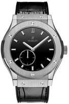 Hublot Classic Fusion Classico Men's Ultra-Thin Titanium Manual Watch - 515.NX.1270.LR