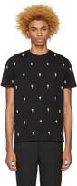 Neil Barrett Black Fleur de Thunder T-Shirt