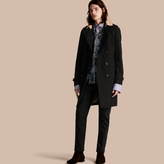Burberry Contrast-collar Cotton Gabardine Trench Coat