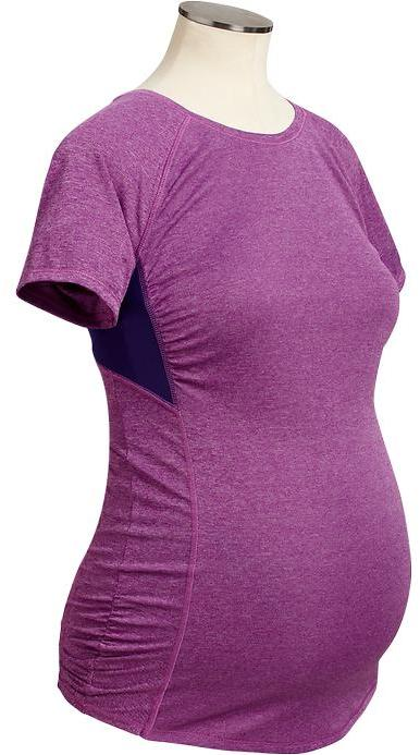 Old Navy Maternity Active by Semi-Fitted Running Tees