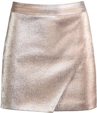 Mason by Michelle Mason Wrap Mini Skirt